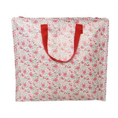 Girls Pink Floral Bedroom Under Bed Storage Bags